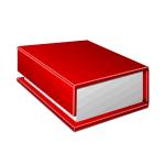 Коробка-книга с клапаном