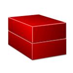 Коробка крышка-дно симметричная