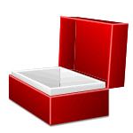 Коробка с откидной крышкой (шкатулка, ларец)